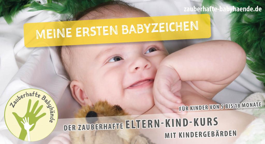 8x Zauberhafte Babyhände – Meine ersten Babyzeichen (5-9 Monate)