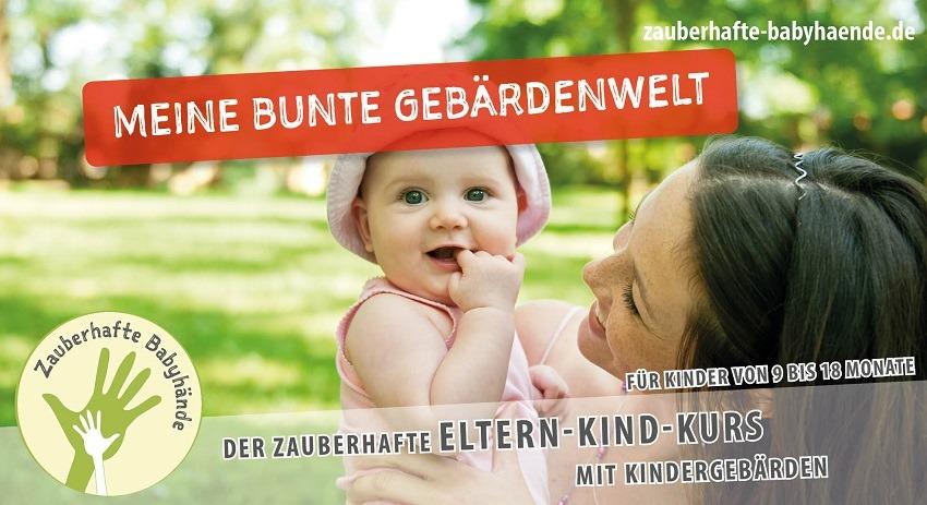 8x Zauberhafte Babyhände – Meine bunte Gebärdenwelt (5-9/ 9-12/ 12-18 Monate)